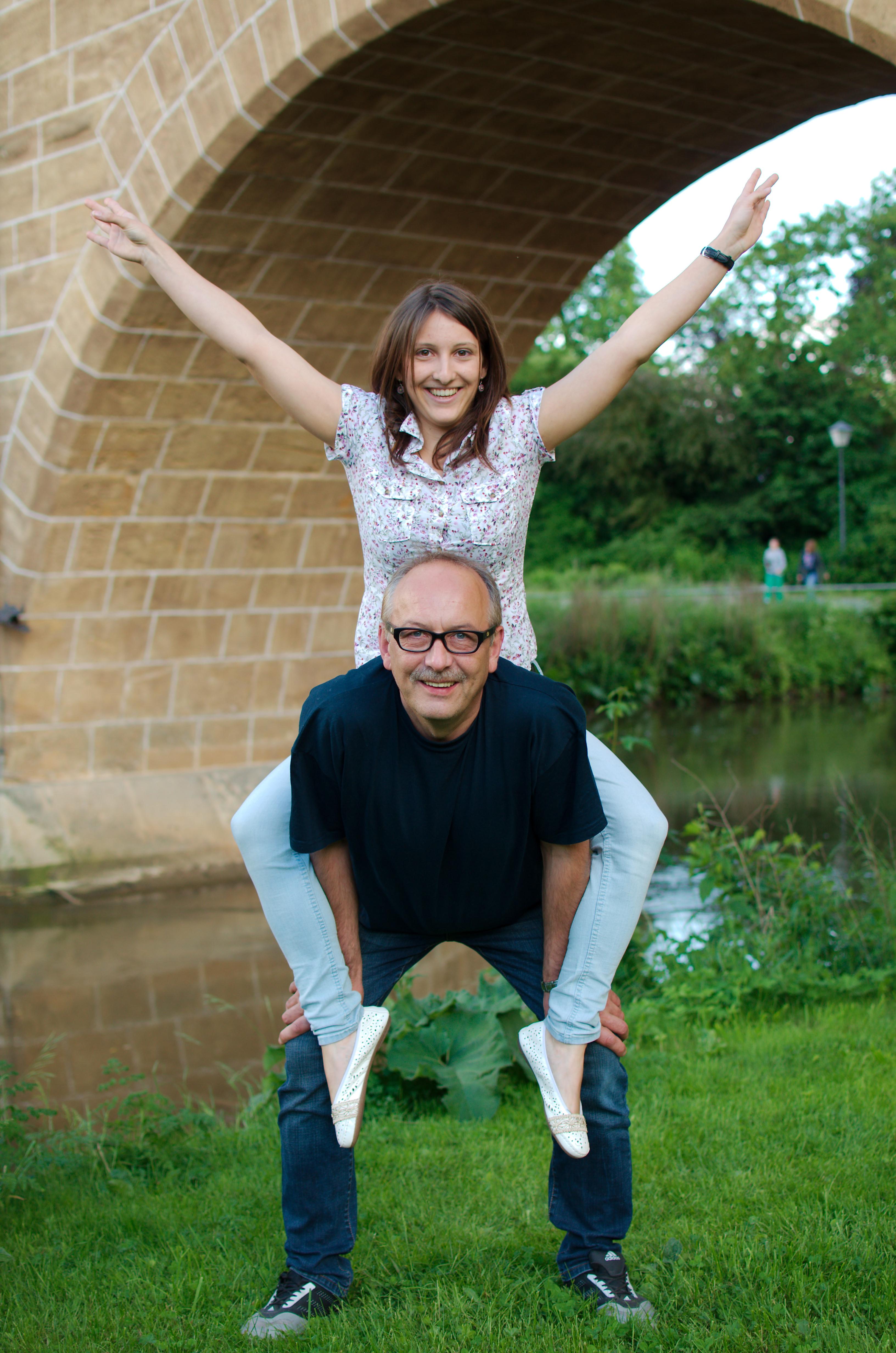 Die Trainer Isabel und Martin